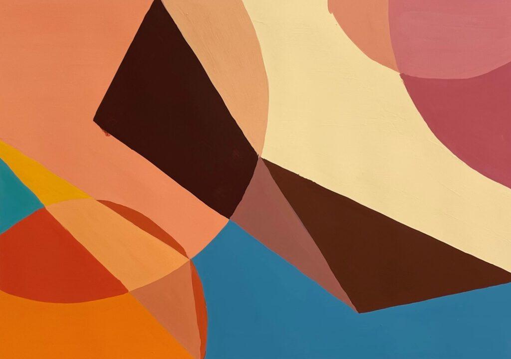 色彩構成 基礎 アクリル