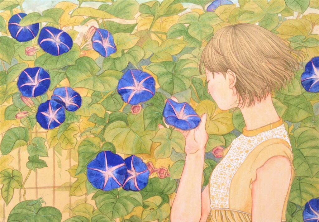 日本画 講師作品